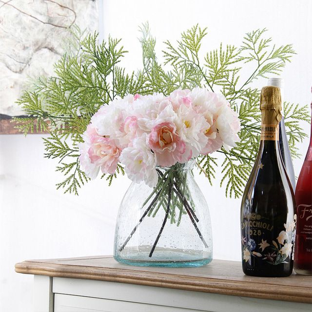 Luyue официальный магазин искусственного шелка цветы розмарина невесты букет 21 шт./лот 14 см главная свадебные украшения 3 цветов