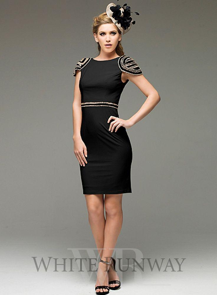 Cocktail Length Dress - Ocodea.com