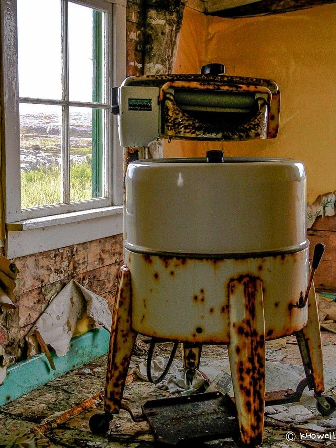Old Washing Machine, Battle Harbour, Labrador, Newfoundland by Kevin Howell