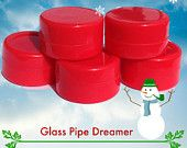 Red Silicone Non Stick Container . Small Dab Wax Concentrate Container .Gifts for Buddies . Holiday Vape Gifts