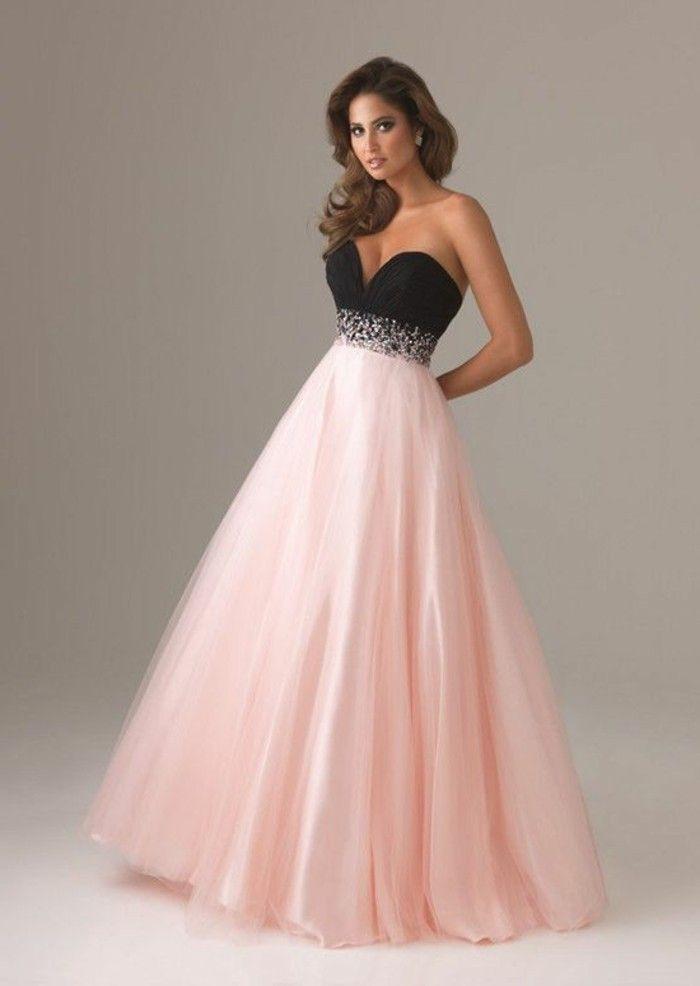 Elegante Kleider Schwarz Rosa Elegante Kleider Kleider Ruckenfreie Ballkleider