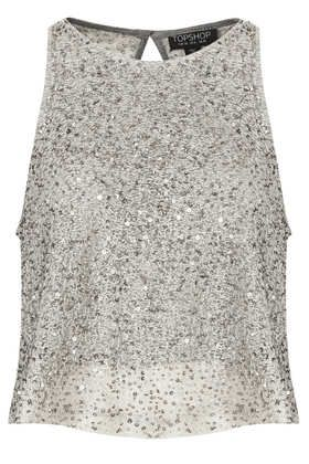 Sequin Swing Top