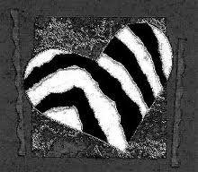 pingl par martine fath sur zebre pinterest zebre et coeur. Black Bedroom Furniture Sets. Home Design Ideas