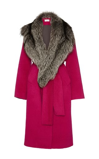 Wool Candice Coat by TANYA TAYLOR for Preorder on Moda Operandi