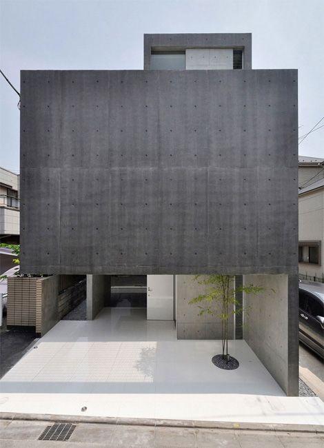 concrete and shiny white