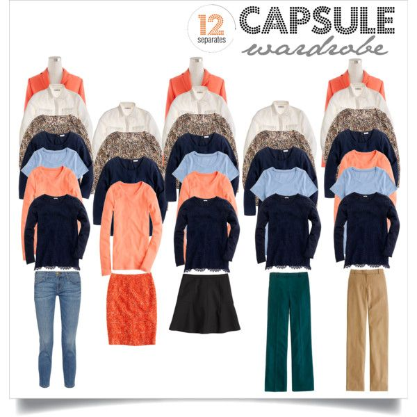 Fall Capsule Wardrobe 1 by abiggercloset on Polyvore featuring J.Crew and Current/Elliott