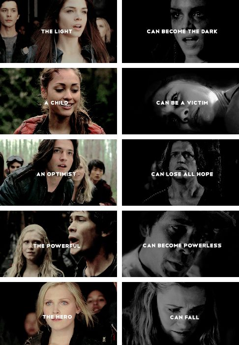 I love this! It really shows the contrasts between who they were at the beginning, and who they were at the end. They all changed so much.
