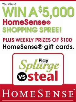 HomeSense Splurge vs Steal – Holiday Edition  *Contest Closes on Nov 25*  http://womenfreebies.ca/contest/homesense-splurge-vs-steal/