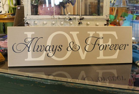 Handmade painted wood sign for your home by SignandGiftGallery, $25.95