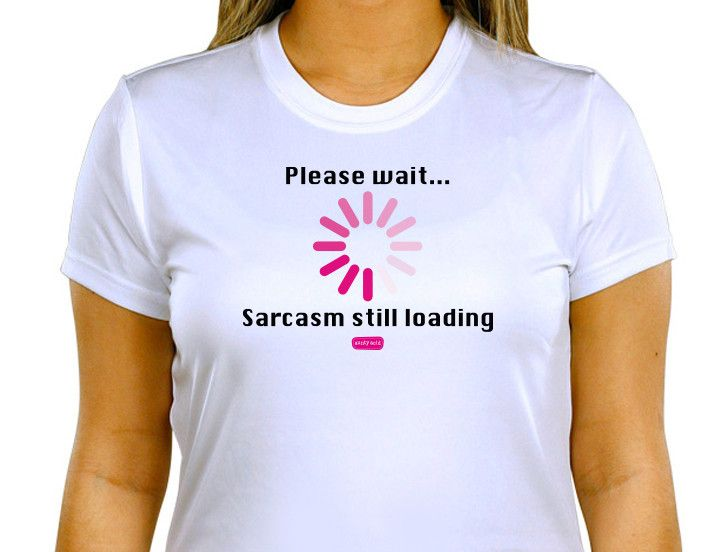 Aunty Acid Sarcasm T-Shirt | Shop.AuntyAcid.com | The Official Aunty Acid Store