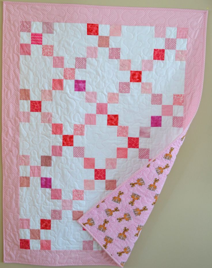 141 best Single Irish Chain Quilts images on Pinterest | Quilting ... : irish chain baby quilt pattern - Adamdwight.com