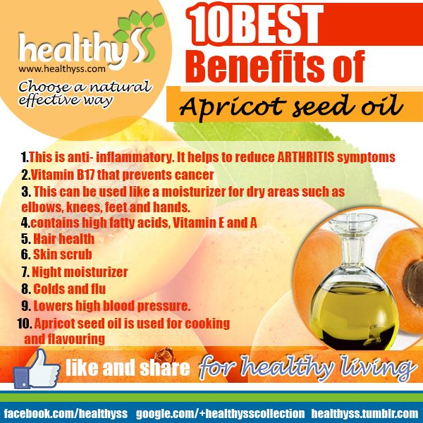 Apricot seed oil (cancer fighter)