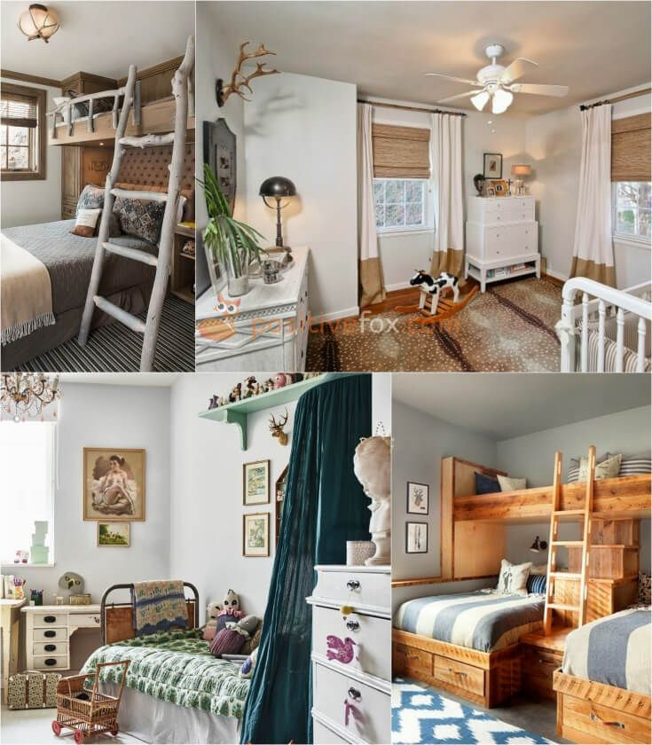 Country Interior Design for Small Kids Rooms. Explore more Country Interior Design for Small Kids Rooms on https://positivefox.com #smallspaceskidsrooms #countrykidsroom #kidsroomideas #countrykidsroomideas #interiordesign #collage #homeideas #homesmallspaces #smallspaces #nurserydesignideas #countryinterior #collage