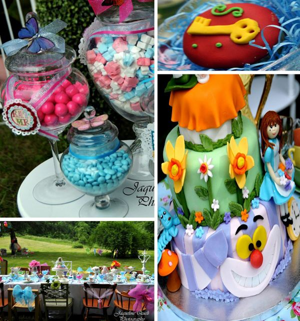 Alice In Wonderland Party With Lots of Ideas