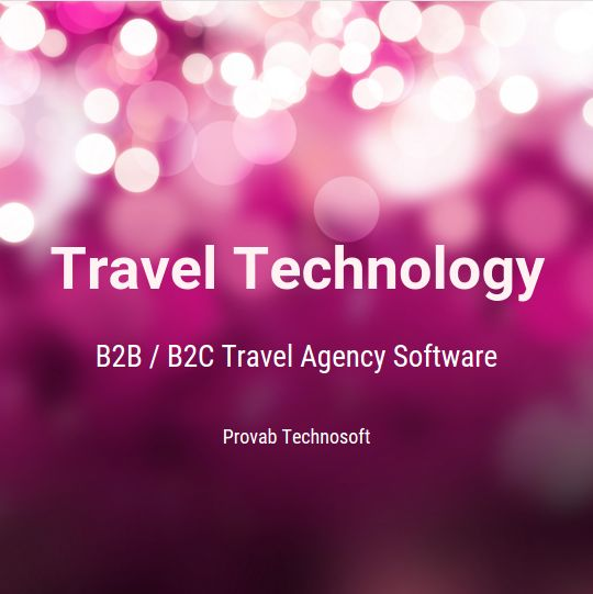 Web Gds Software For Host Travel Agencies
