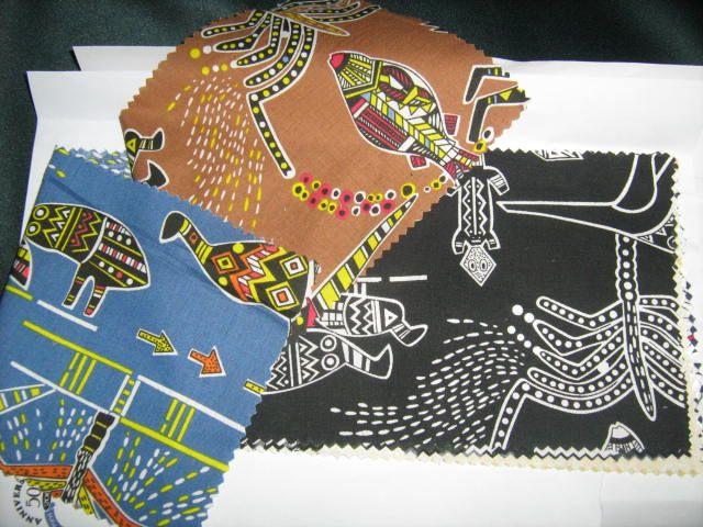 Australiana fabric