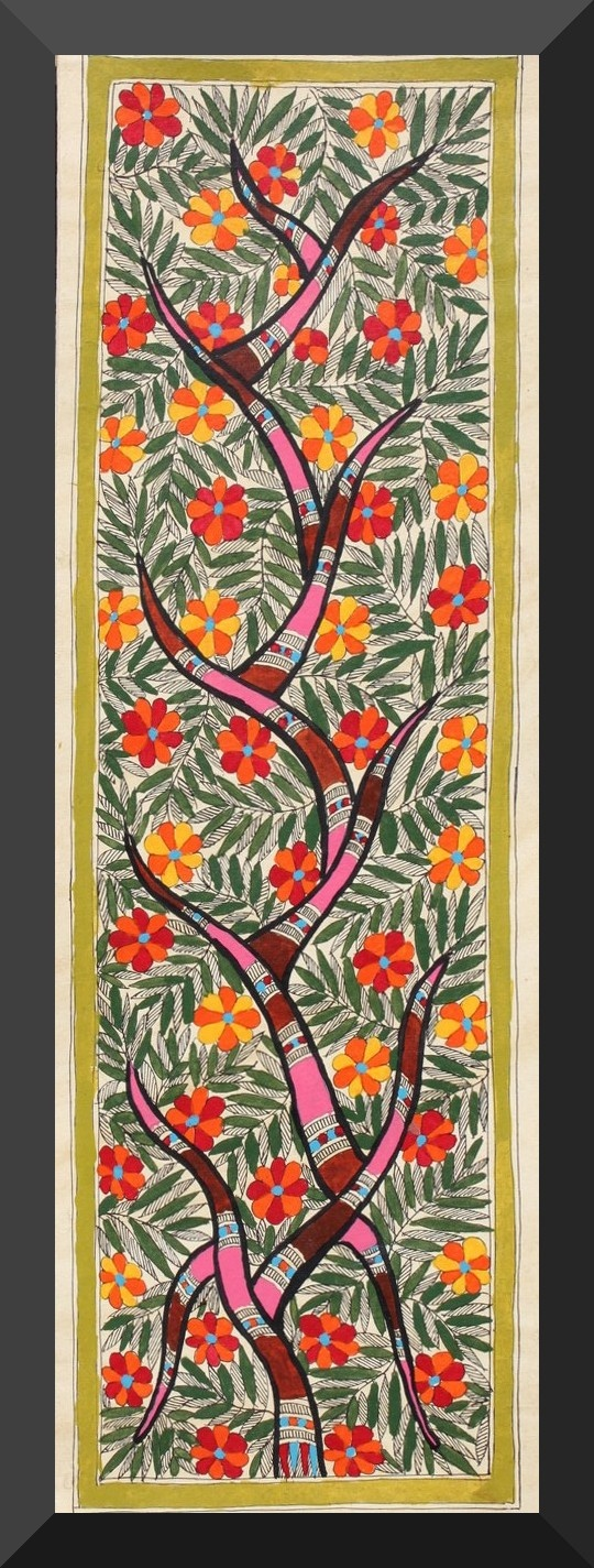 Madhubani Painting - The Tree of Life
