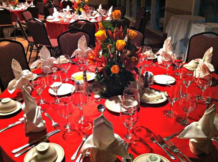 55 best Banquet Room Decor images on Pinterest   Table decorations ...