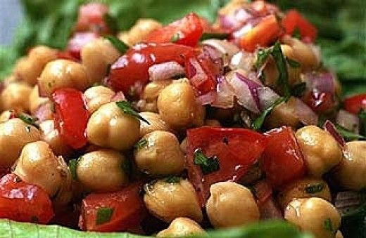 Beans, lentils and grains are prominent on the Vegan Food Pyramid