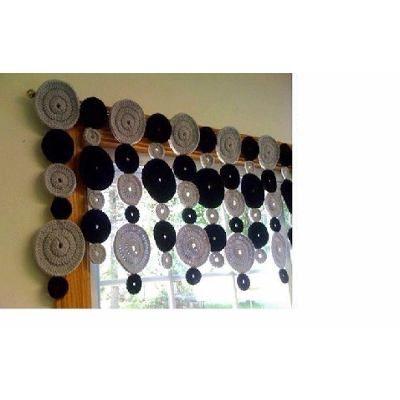 Cortinas Crochet Hasta 1.40 M   X  Hasta 1m - $ 800,00