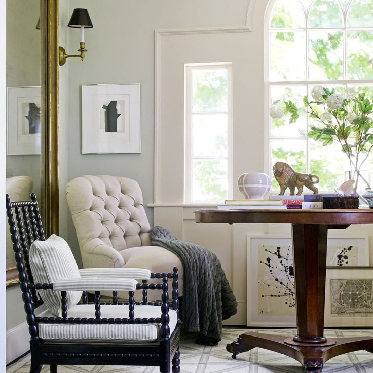 89 best images about white walls on pinterest paint colors kitchen ceilings and painting doors - Small spaces george paint ...