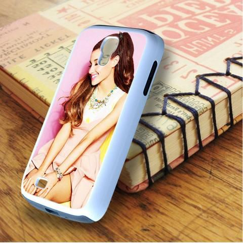 Ariana Grande Cute Smile Samsung Galaxy S4 Case