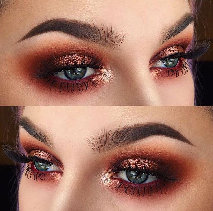 """Instagram   @alyssamarieartistry  * Eyeshadow   Anastasia Beverly Hills """"Modern Renaissance"""" palette & MUG """"Light Year"""" sparkler  * Waterline   L.A. Girl """"Berries"""" semi permanent auto liner"""