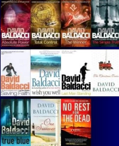 Author: David Baldacci / Novels