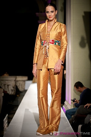 To see more of Erika's unique designs featured on runways across the world, visit our facebook page (Romani Design) or www.romanidesign.hu!