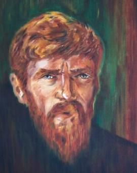 D. H. Lawrence, self portrait.