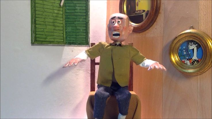 STOP MOTION ANIMATION VERY VERY FUNNY CECILIO