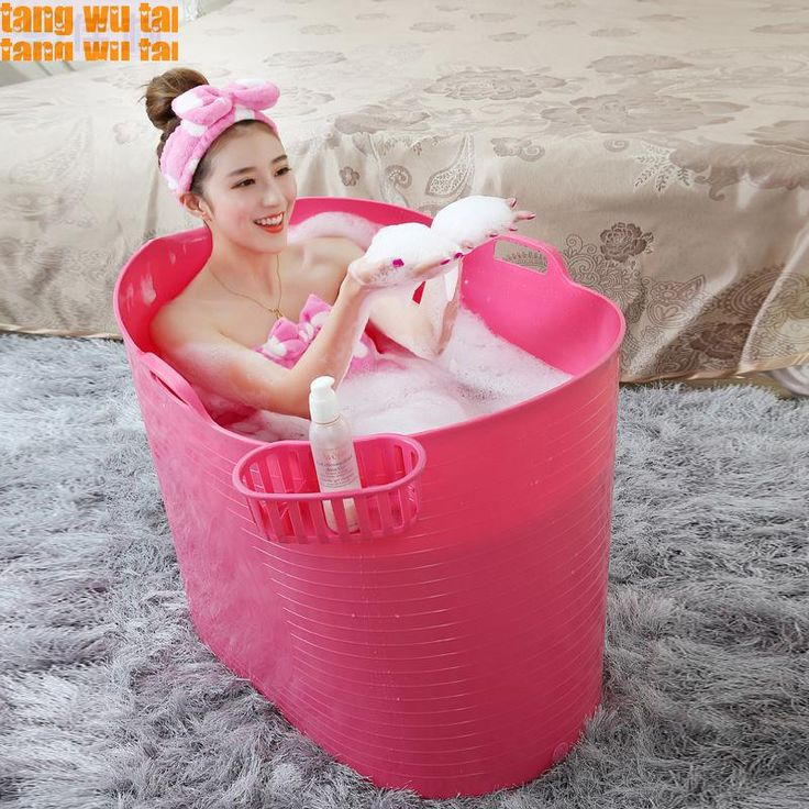 Free shipping  2015 New Arrival Plastic Pe General Bath Barrel With Lid Adults Tubs-in Tubs from Home & Garden on Aliexpress.com   Alibaba Group