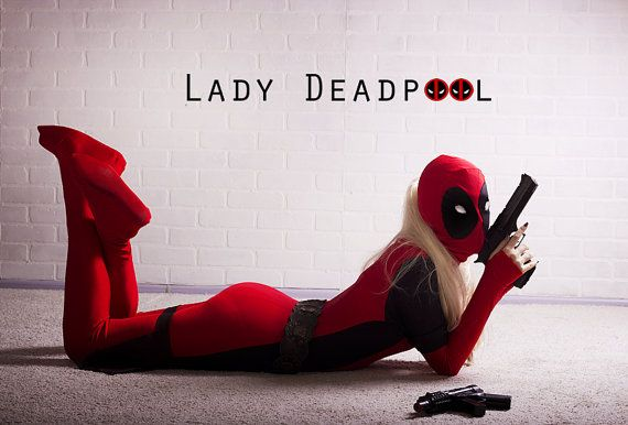 Lady Deadpool Costume. Deadpool Cosplay Full Body costume for Women. Awesome Sales at the moment !