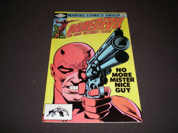 Daredevil 184 1982 Punisher Appearance Drug Issue Marvel DE1