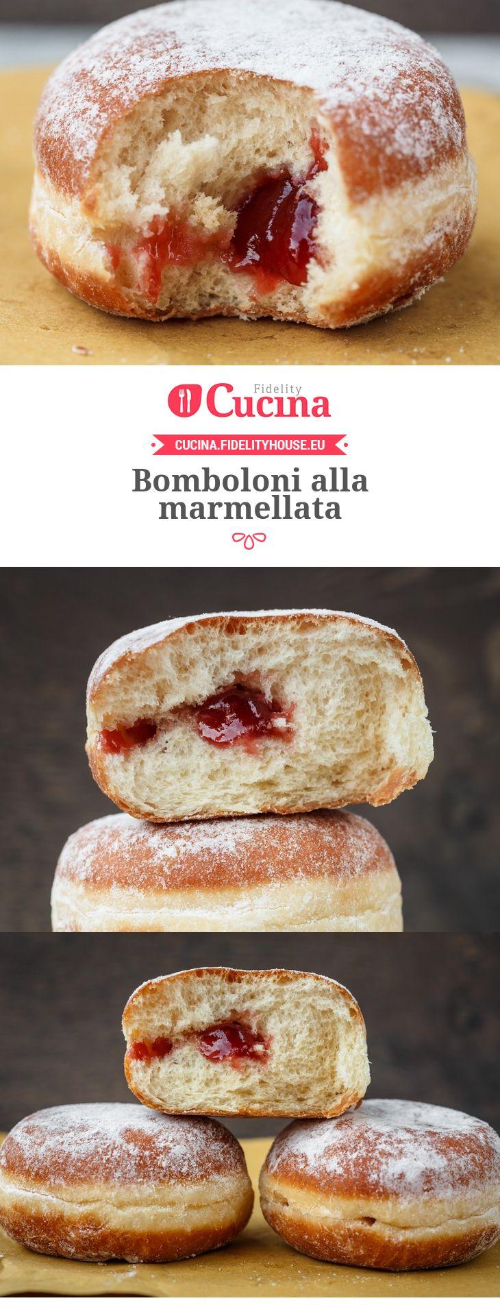 I #bomboloni alla #marmellata sono perfetti per la #merenda o per la #colazione ma anche per un piccolo peccato di gola durante il giorno.