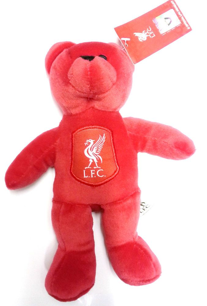 Liverpool Fc Beanie Teddy Bears Official Football Gifts Beanie Teddy Bears Children s Kids Toys Size 8 inches Brand New