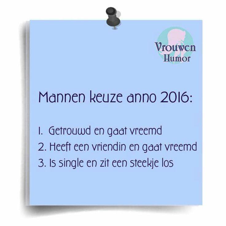 Mannen keuze anno 2016