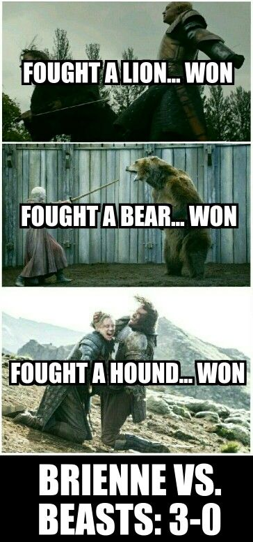Brienne Over Everyone Else