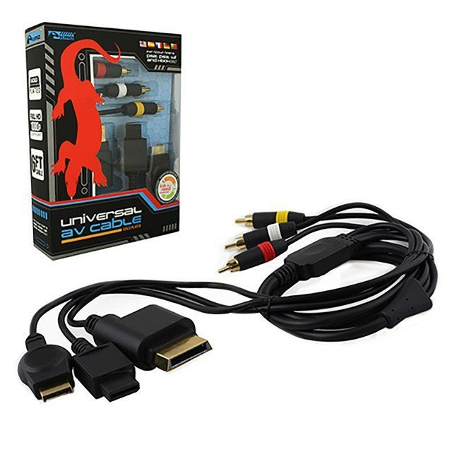 KMD - Universal AV Cable for Wii®, Xbox 360®, PS2®, PS3®