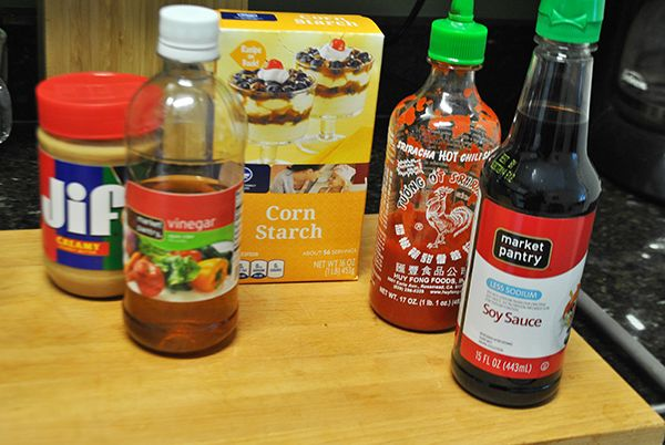 Homemade Stir Fry Sauce Ingredients