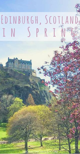The Best Things to Do in Edinburgh During Spring. If you're wondering when the best time to visit Edinburgh is, then spring might be a winner! Check out these awesome things to do in Edinburgh as the weather warms up!