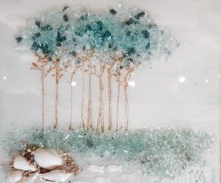 Landscape Art - Mary Hong Studio - GlassCollage Art