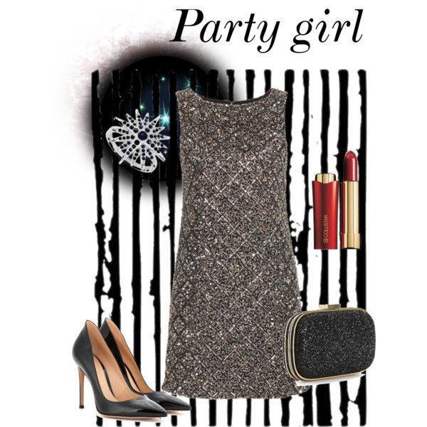 """""""Party Girl"""" by yvonwouters on Polyvore"""