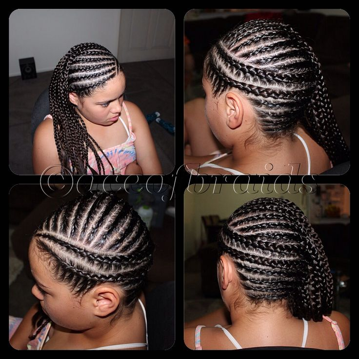 Groovy 1000 Images About Natural Kids Cornrow Mohawk On Pinterest Hairstyles For Women Draintrainus