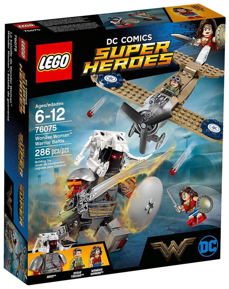 LEGO DC Comics Super Heroes 76075 : Wonder Woman Warrior Battle - Mai 2017