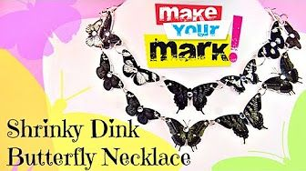 How To Make a Beaded Zip Tie Necklace DIY - YouTube