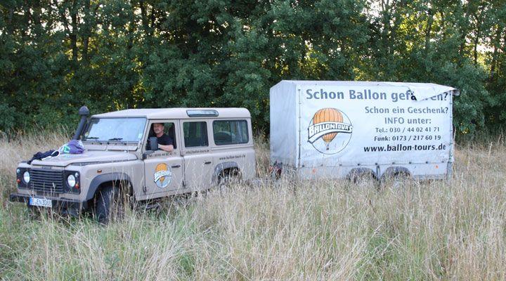 Ballonfahrt bei Berlin  einfach traumhaft