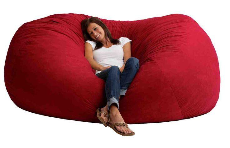 Red Bean Bag Chair