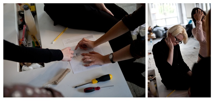 "School of Form ""Every object tells a story"" workshops conducted by Oskar Zięta #schoolofform"