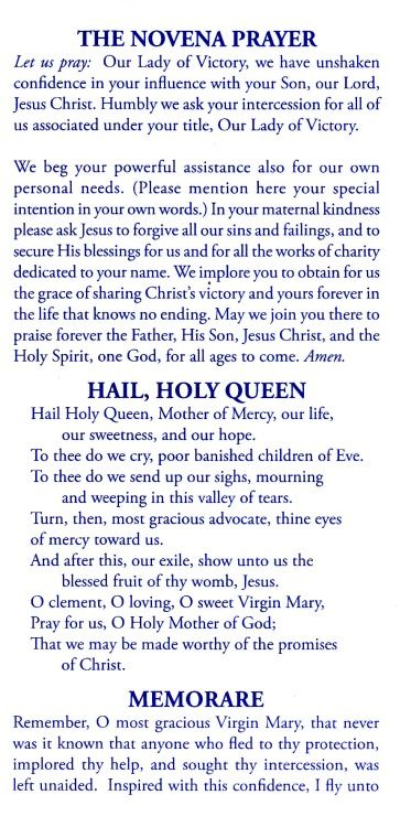 نBeautiful Novena to Our Blessed Mother